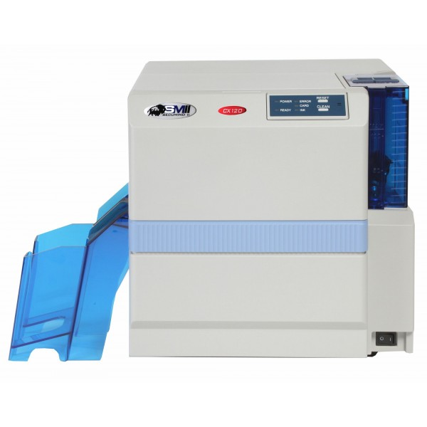 SECUMIND CX-120 Card printer color dual-side USB Mag
