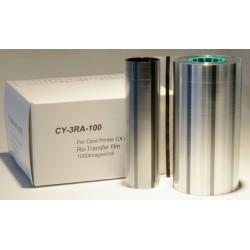 Ribbon retransfer film 1000 images Secumind CX320/330/7000