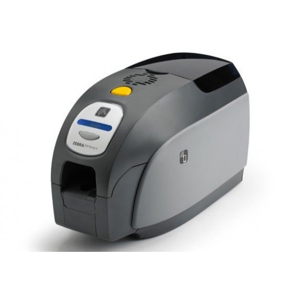 Zebra ZXP Series 3 Single-Sided Card Printer, USB, Ethernet Connectivity, US Power Cord