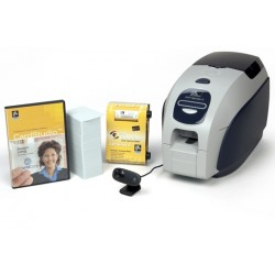 ZEBRA Zebra QuikCard ID solution with ZXP series 3 dual-side card printed with magnetic encoding