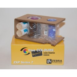 Zebra ix Series color ribbon for ZXP Series 7 YMCKO 250 images