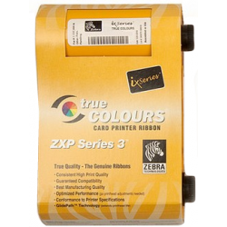 Zebra ix Series monochrome ribbon for ZXP Series 3 Gold 1000 images