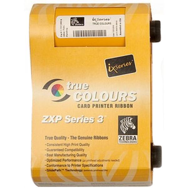 Zebra ix Series monochrome ribbon for ZXP Series 3 Gold 1000 images