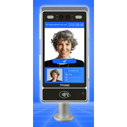 SECU 980T Pro Multi-target Face Recognition Temperature Screening Terminal