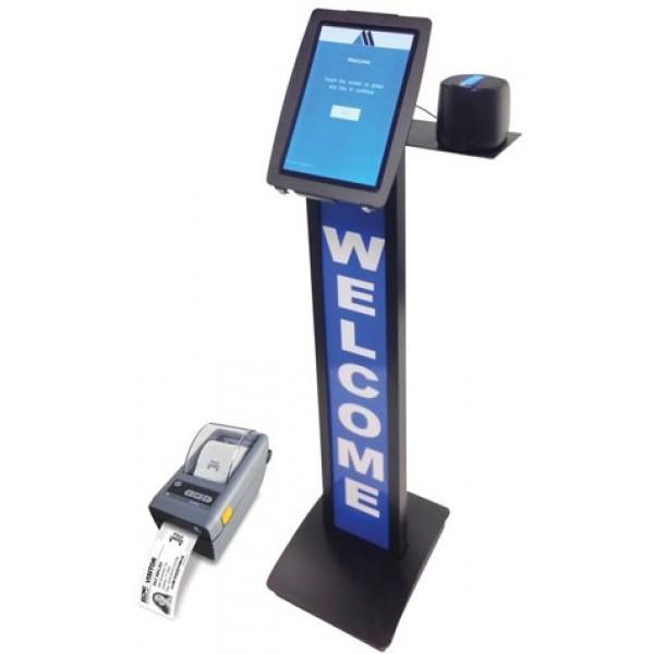 eVisitor Kiosk- Floor Standing version