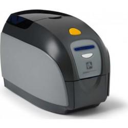 Zebra ZXP Series 1 Single-Sided Card Printer, USB, US Power Cord, 10/10 Ethernet Monochrome Media Starter Kit