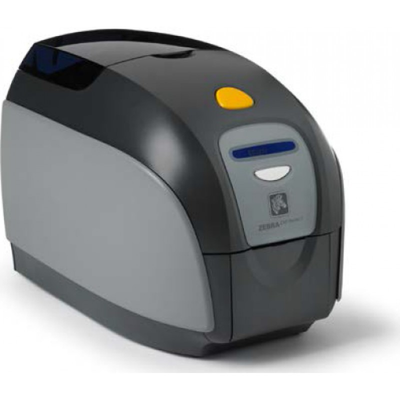 Zebra ZXP Series 1 Single-Sided Card Printer, USB, Ethernet Connectivity,  US Power Cord, Magnetic Encoder