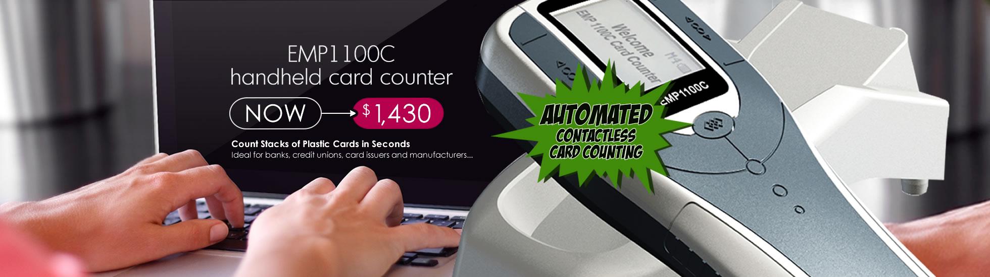 EMP1100 Handheld Card Counter