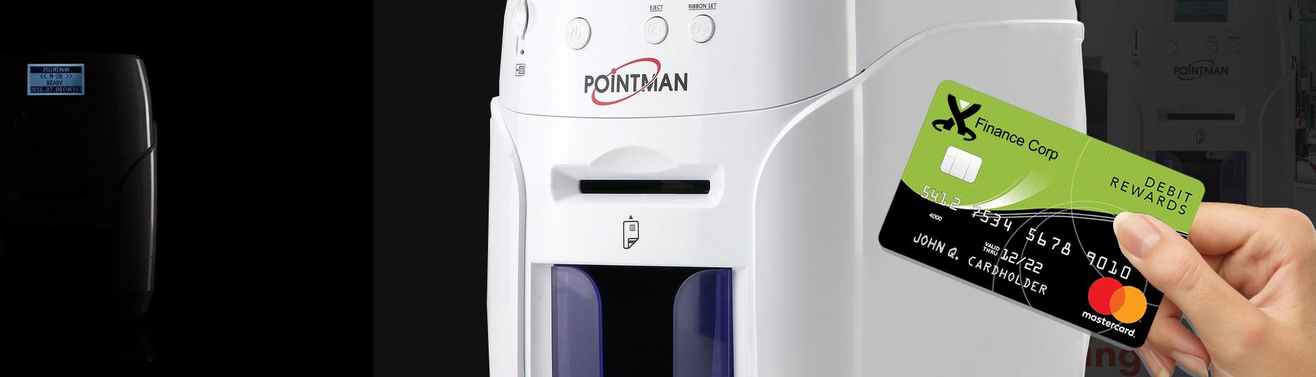 Pointman Nuvia Card Printers